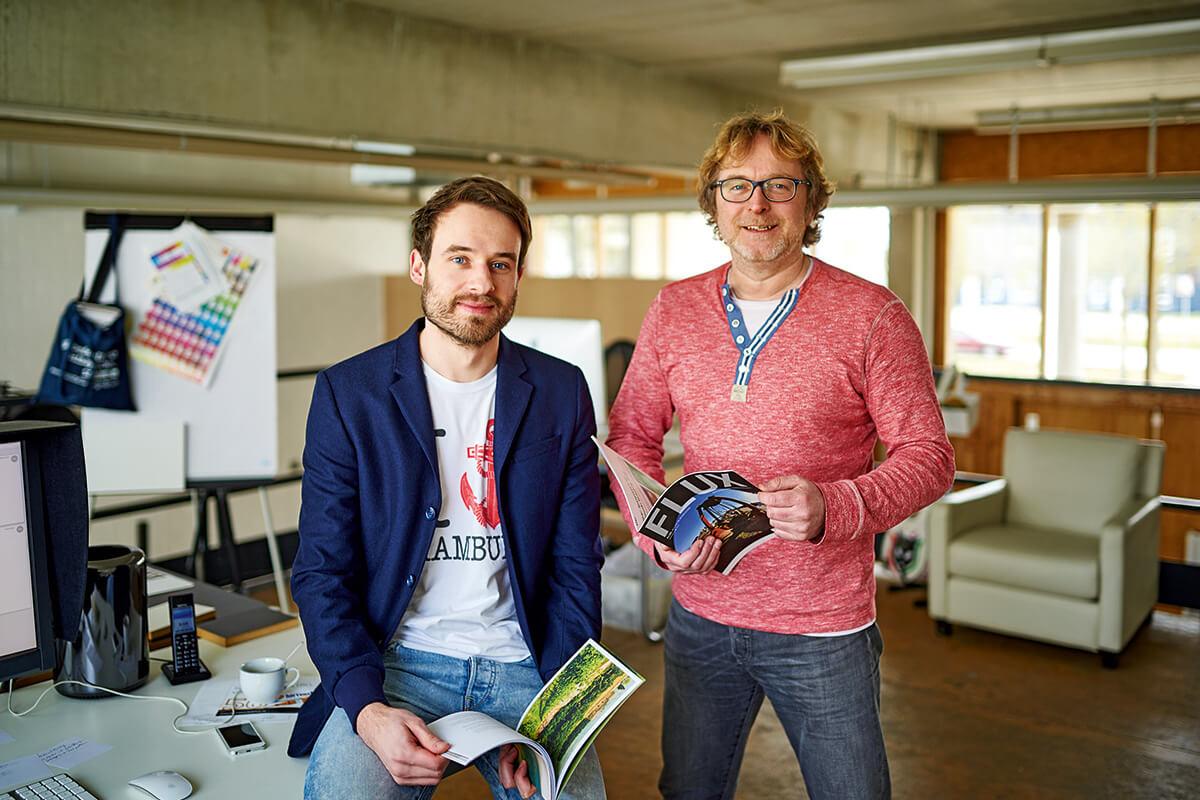 teamElgato Werbeagentur, Matthias Lehner und Dieter Zollner