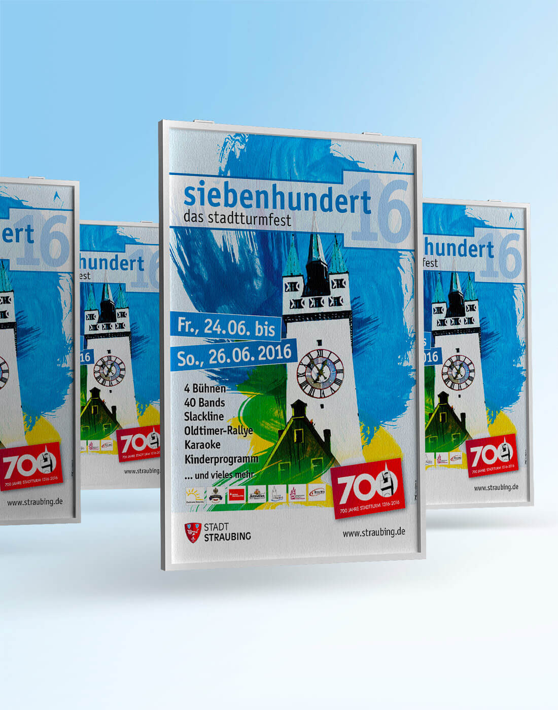 Stadtturmfest Straubing – Plakat