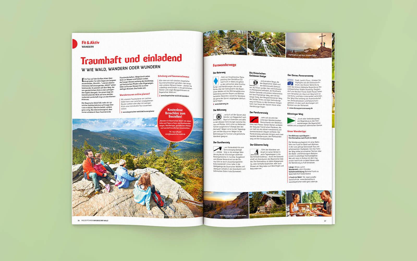 Freizeitführer Bayerischer Wald – Fit & Aktiv