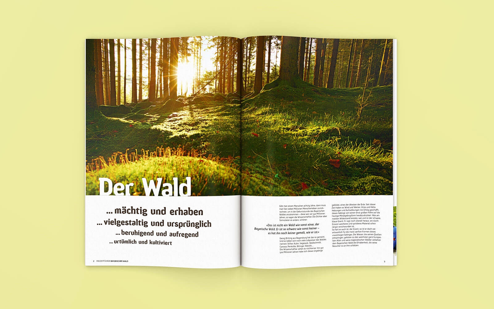 Freizeitführer Bayerischer Wald – Einstieg