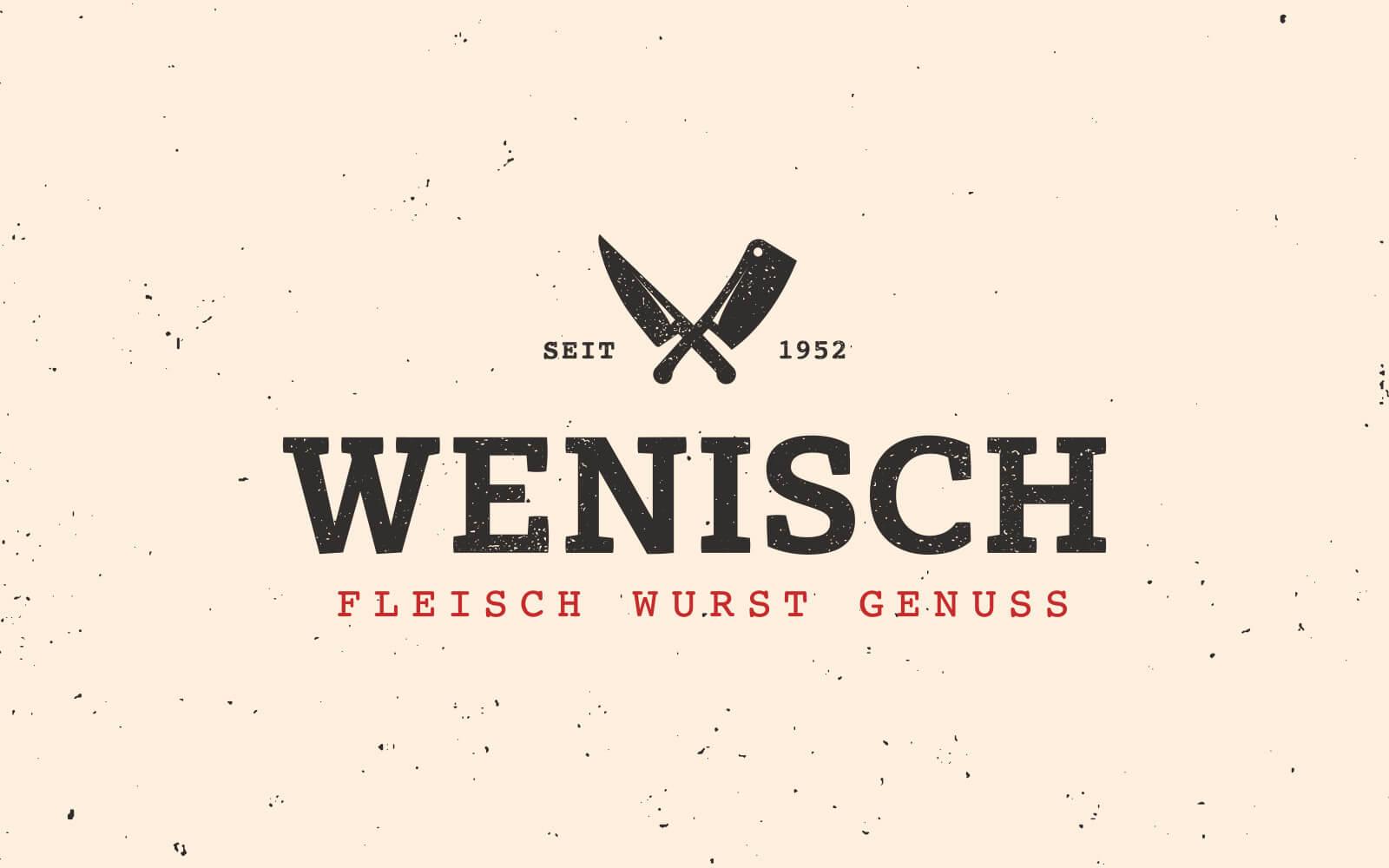Neues Logo für die Metzgerei Wenisch