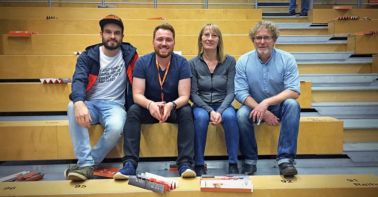 teamElgato mit Ingrid Senft, Geschäftsführerin und Teammanagerin von NawaRo Straubing