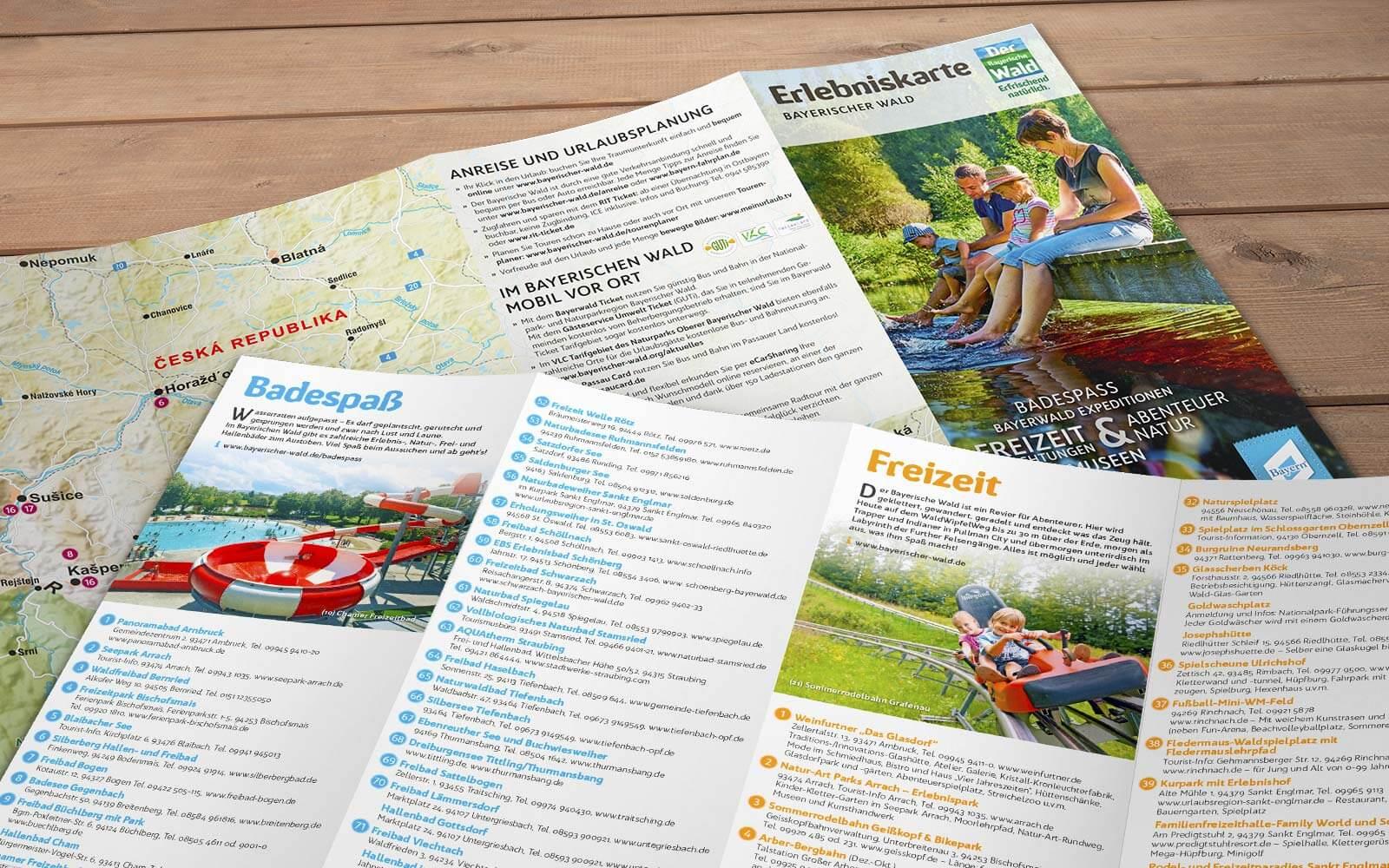 Bayerischer Wald – Erlebniskarte