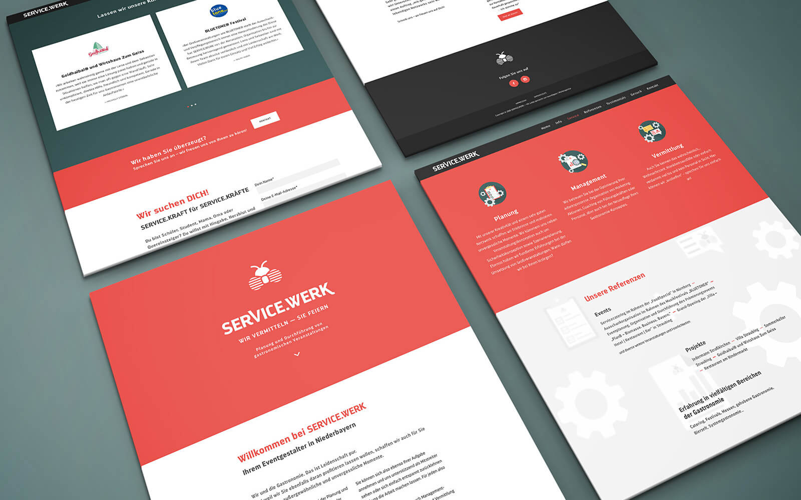 SERVICE.WERK – Website