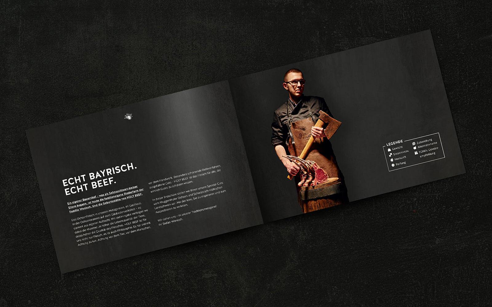 HOLY BEEF – Intro Imagebroschüre
