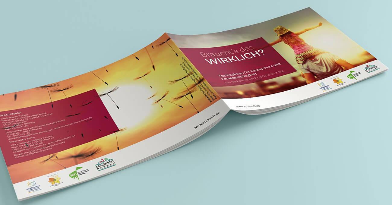 teamElgato News – Broschüre für Fastenaktion