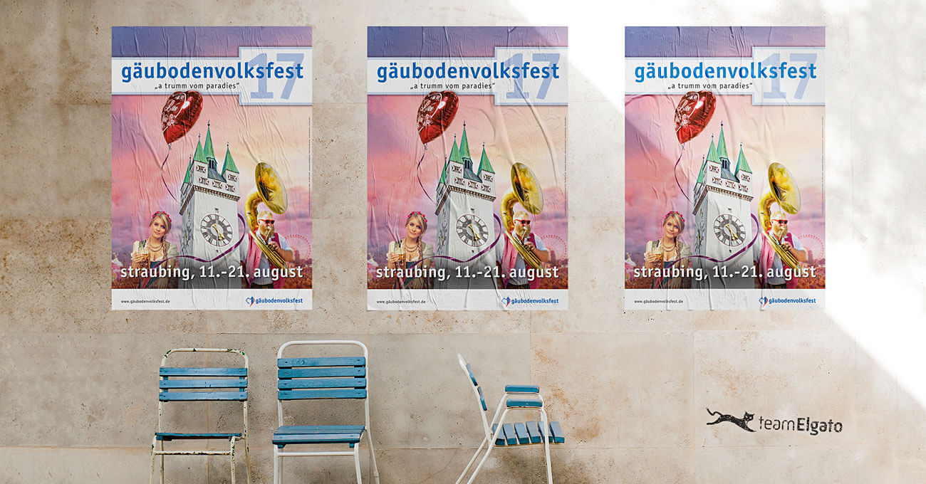 teamElgato News – Plakat fürs Gäubodenvolksfest 2017