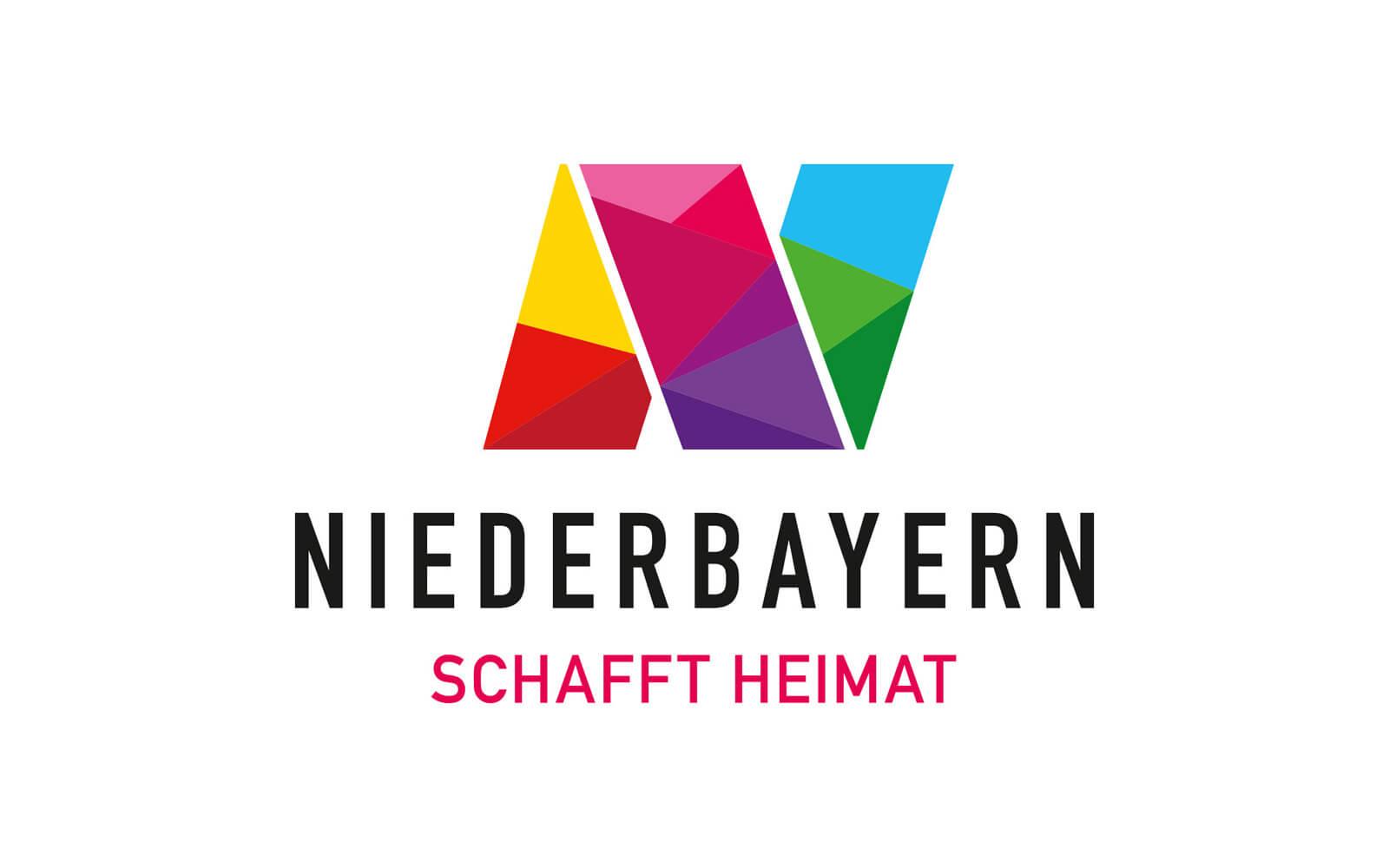 Niederbayern Logo – Dachmarke »Schafft Heimat«