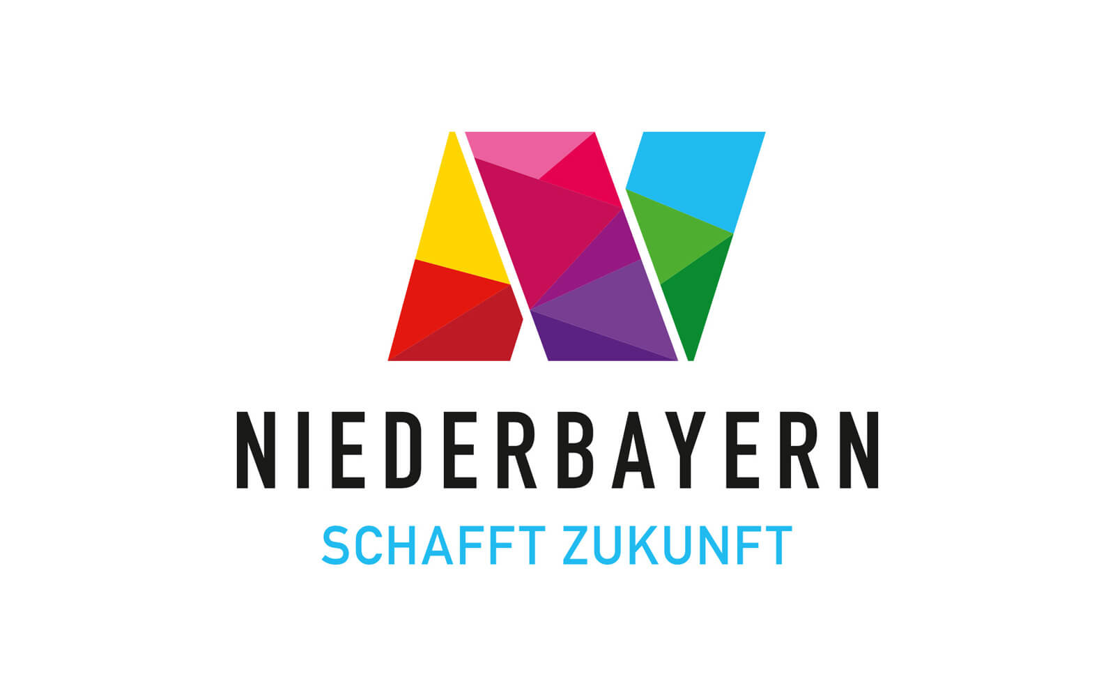 Niederbayern Logo – Dachmarke »Schafft Zukunft«