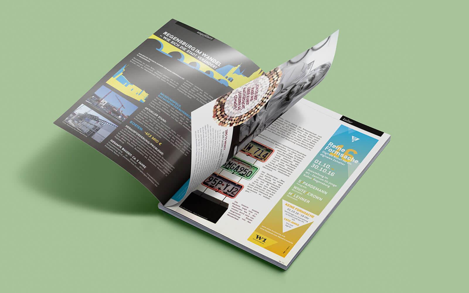 Reine Formsache 16 – Anzeige im Filter Magazin