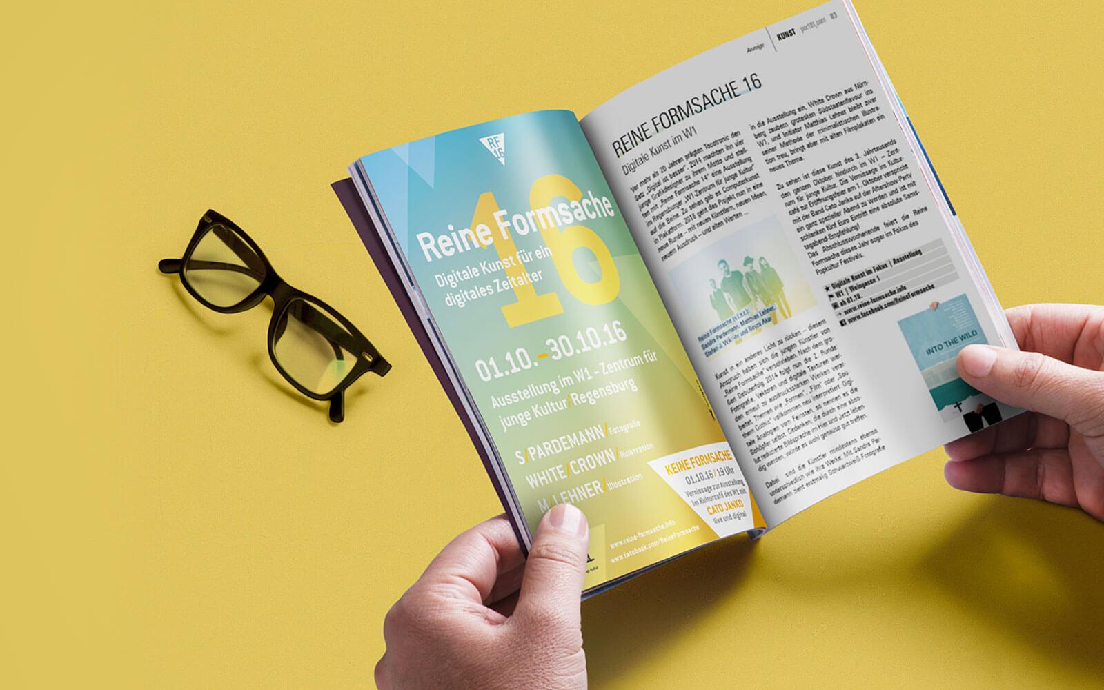 Reine Formsache 16 – Anzeige im Port01