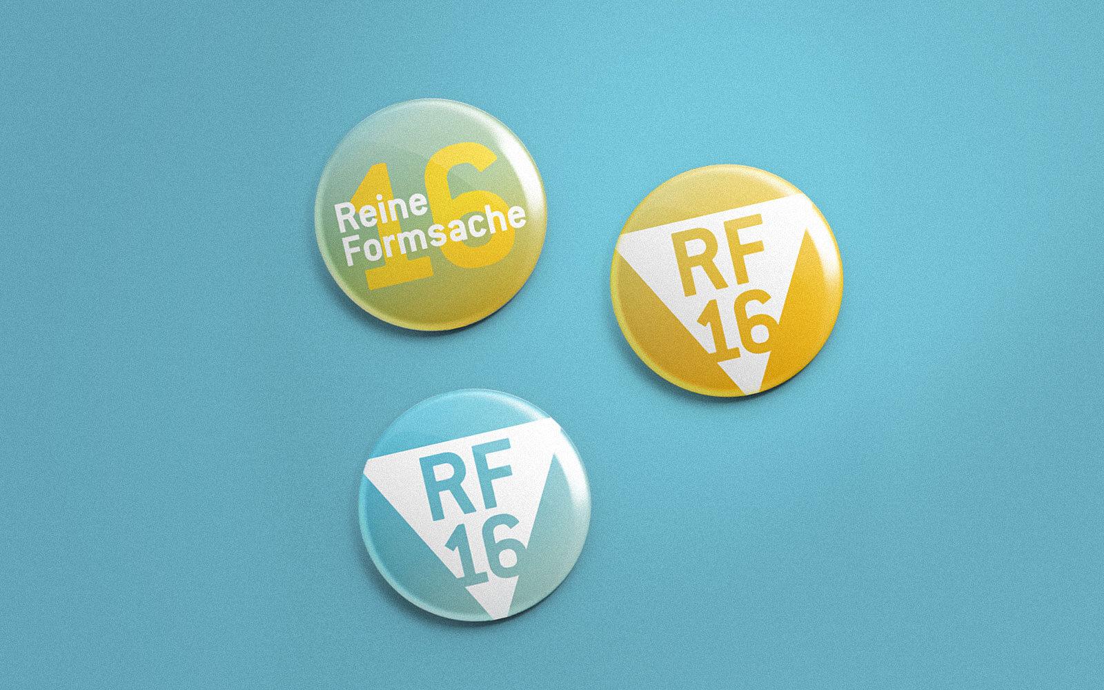 Reine Formsache 16 – Buttons