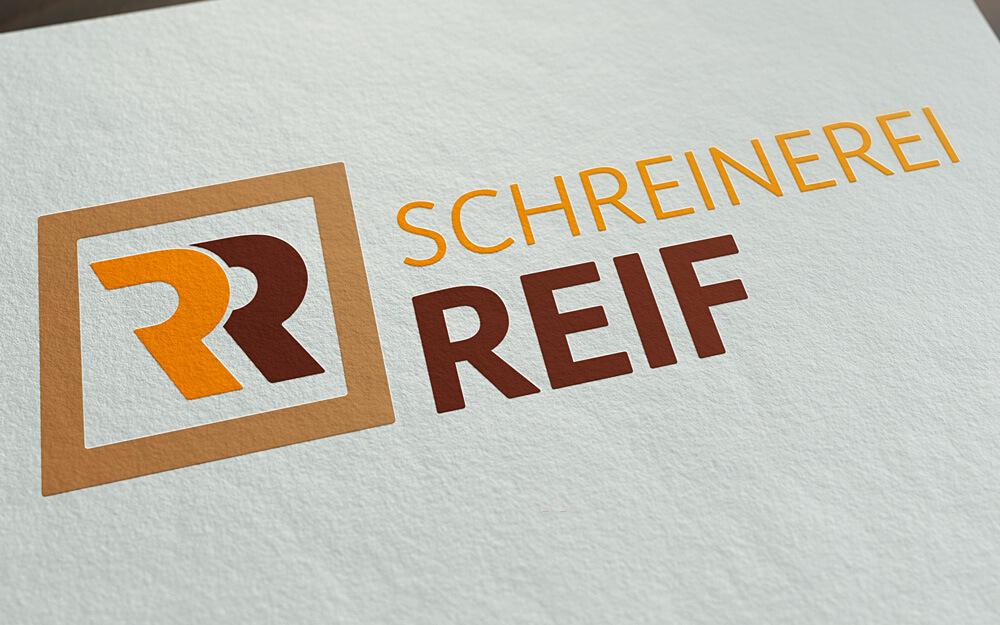 Schreinerei Reif – Logo