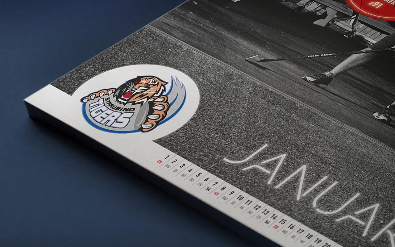 Straubing Tigers – Spielerkalender 2017 Detail 1