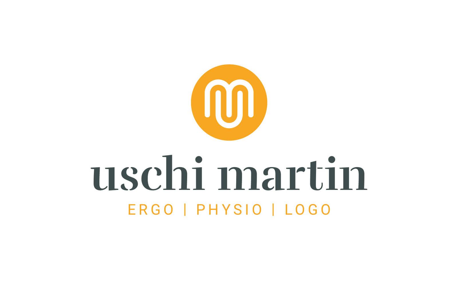 Uschi Martin – Logo für Ergo, Physio & Logo