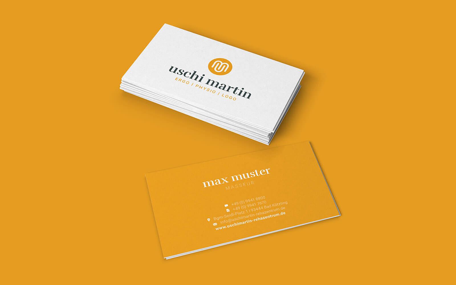 Uschi Martin – Visitenkarten für Ergo, Physio & Logopädie