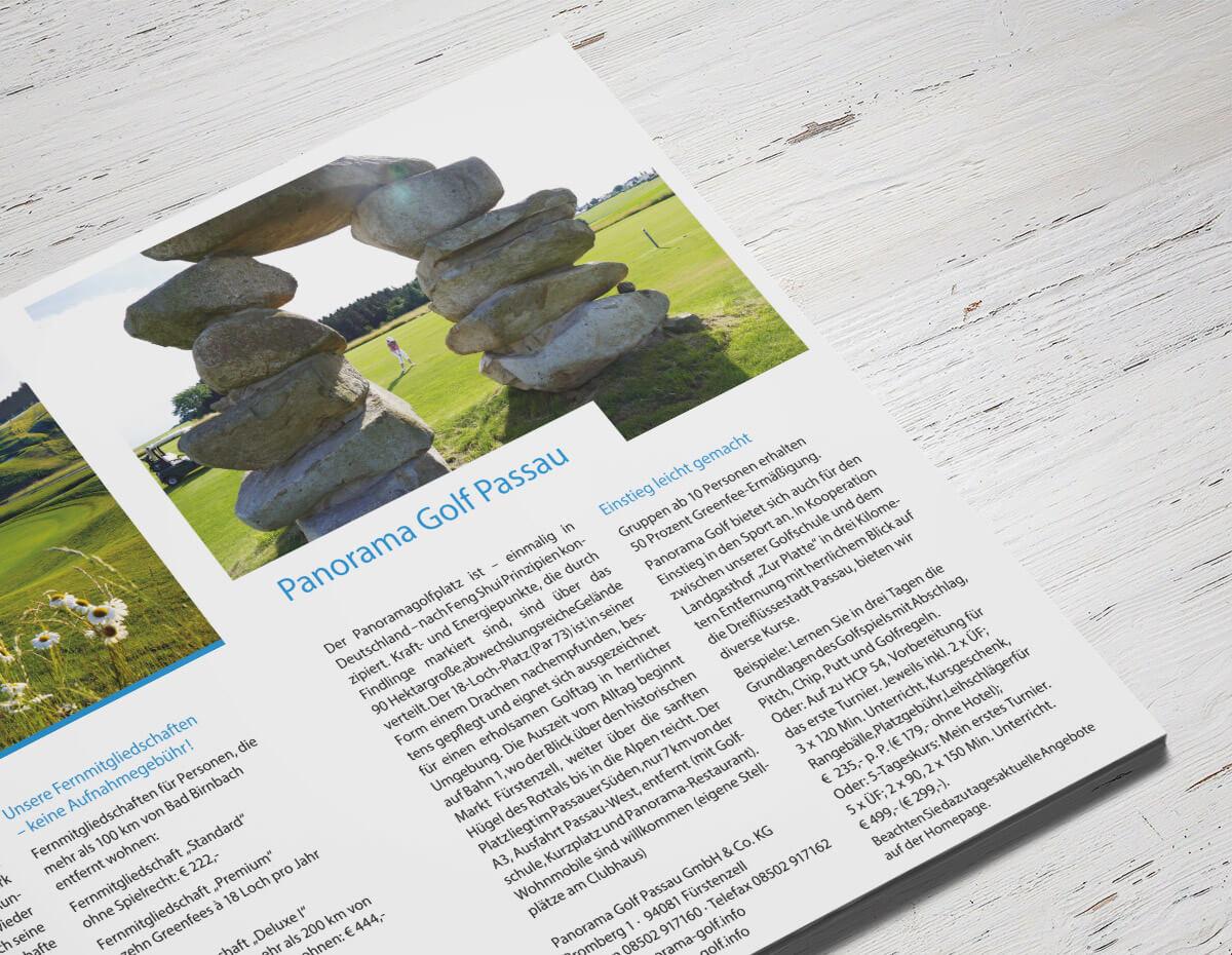 Golfkarte für's Bayerische Golf & Thermenland – Detail 1