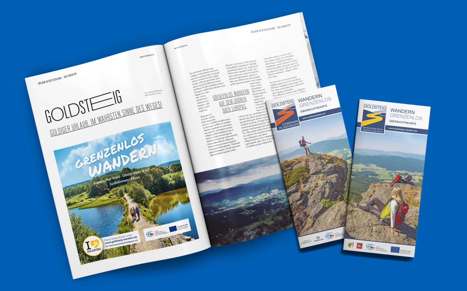 Ostbayern Tourismus – Goldsteig Wandern