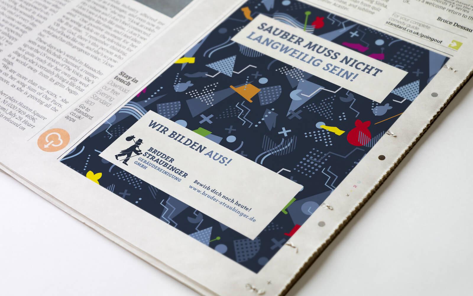 Bruder Straubinger Gebäudereinigung – Anzeige