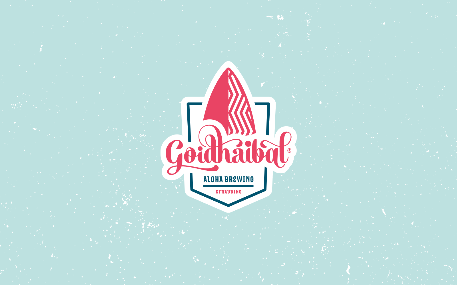 Goidhaibal® – Logo für Bieretikett