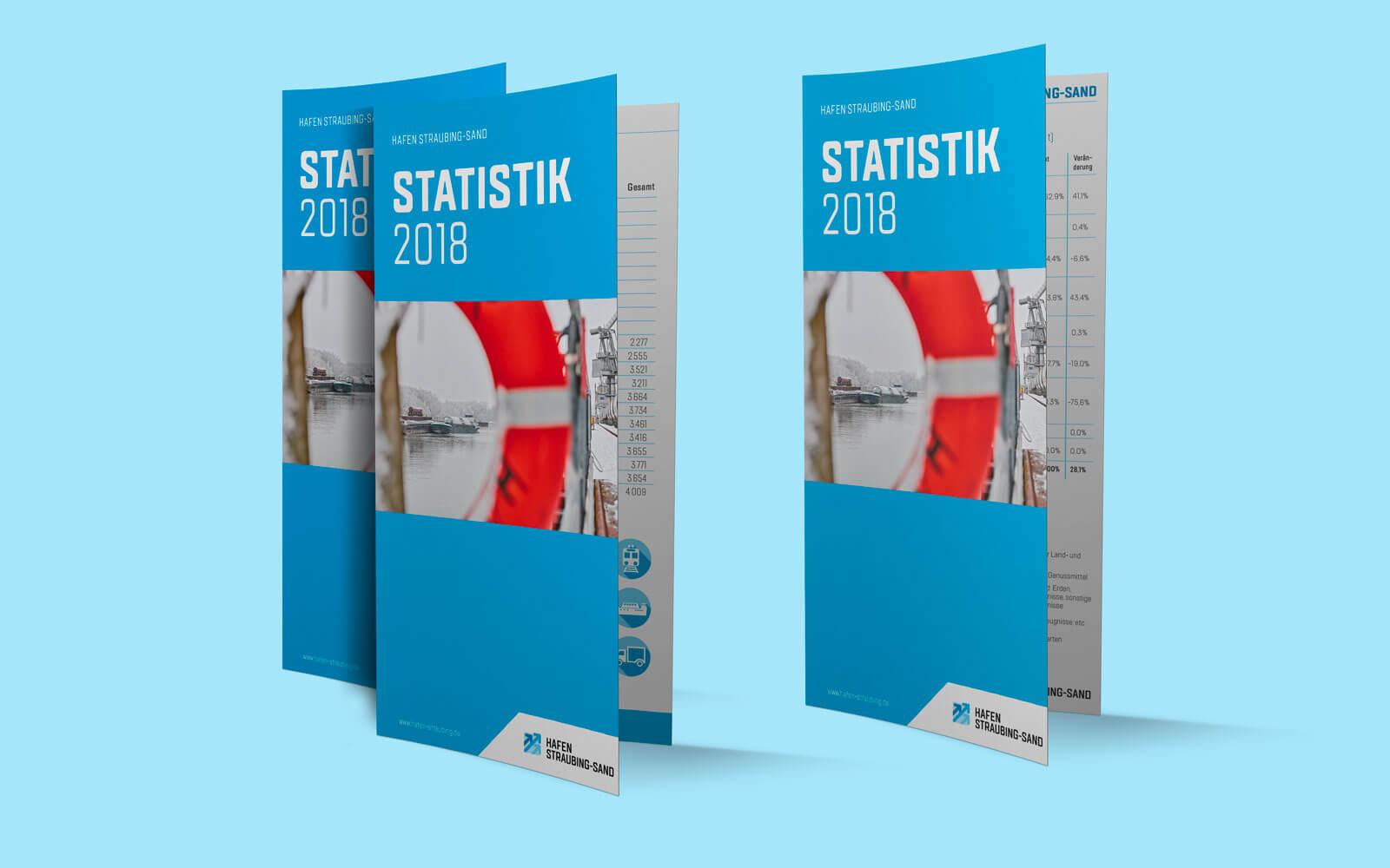 Hafen Straubing-Sand – Statistik-Flyer