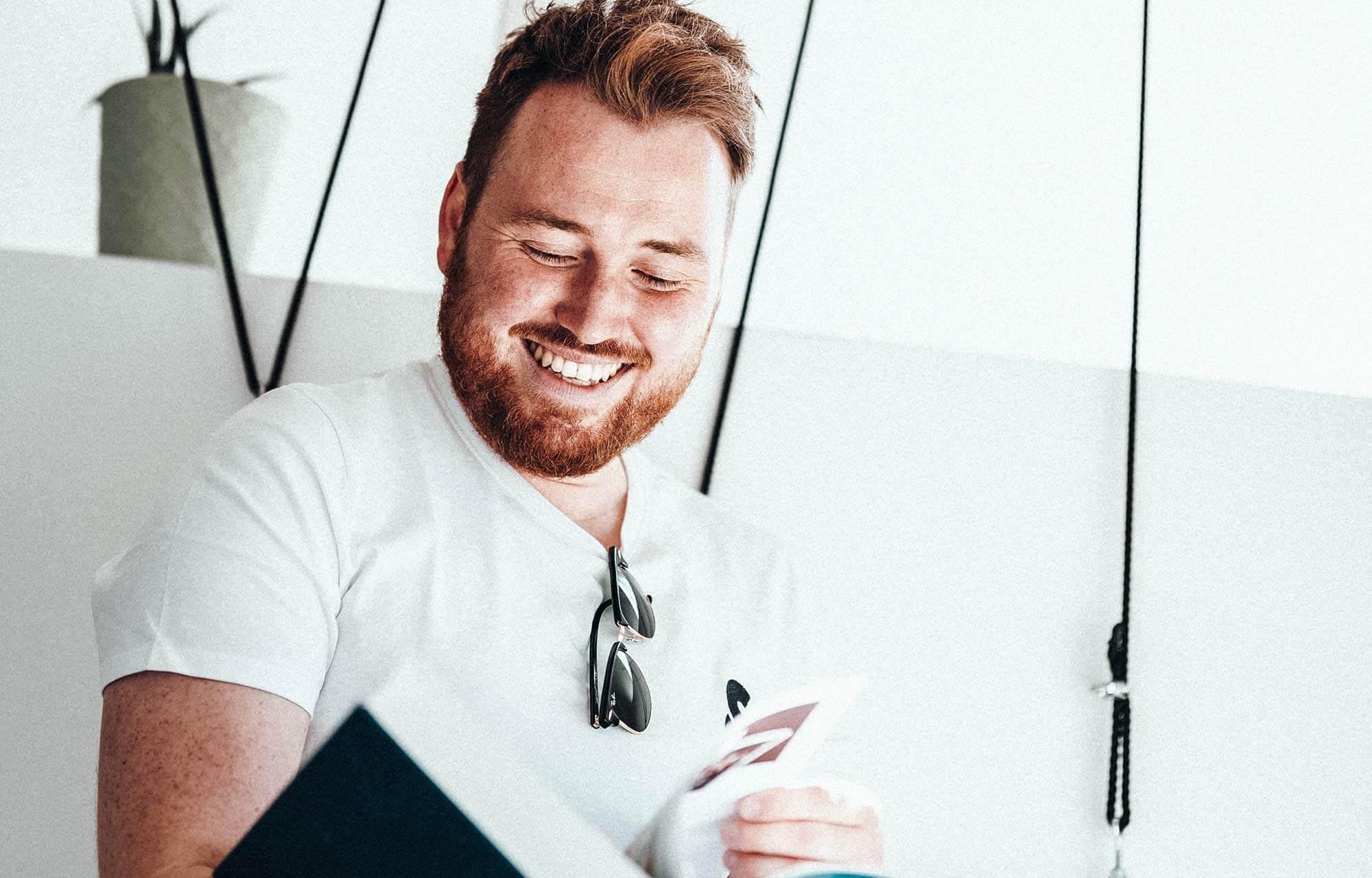 Imagebild Olli Portrait