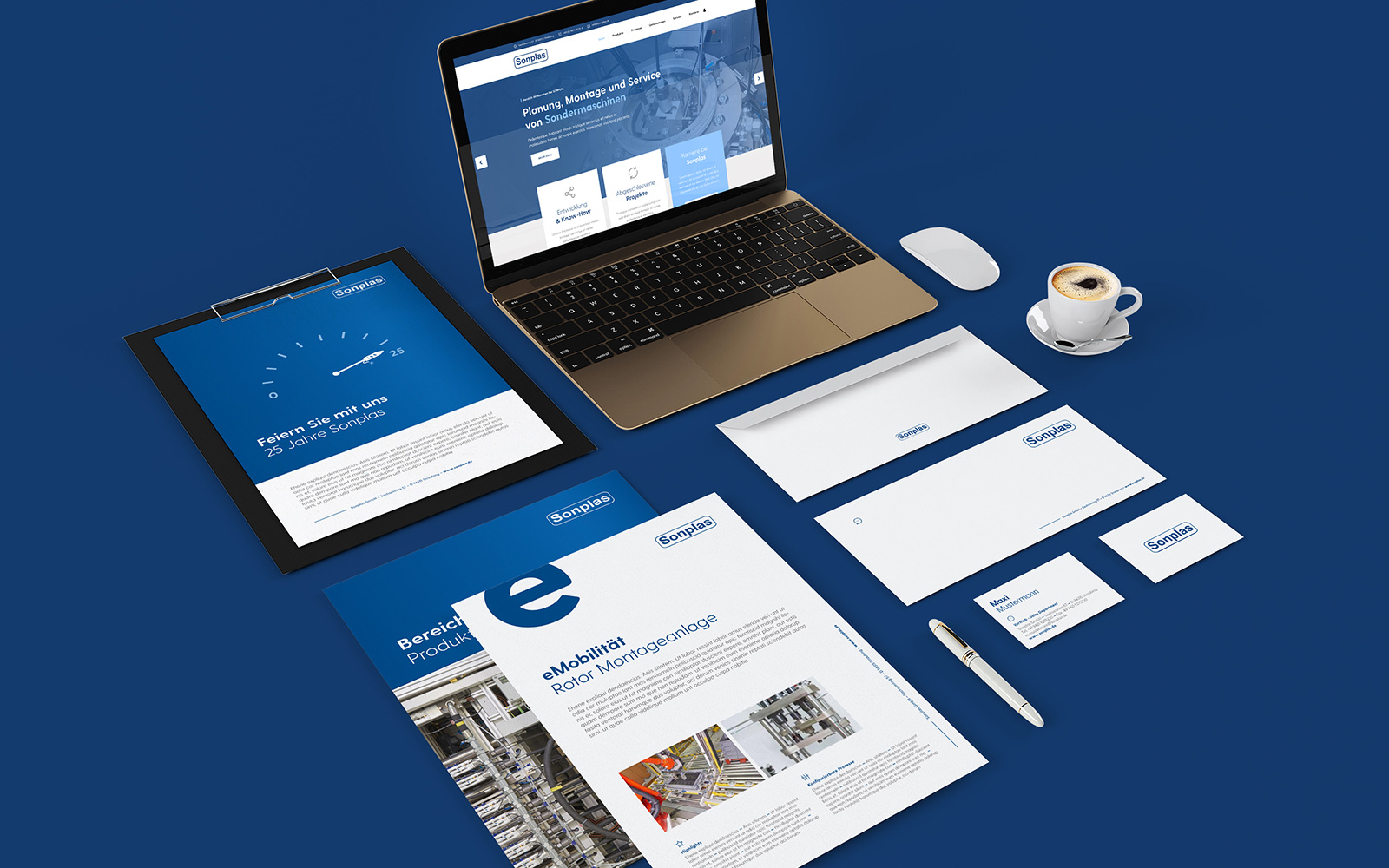 Sonplas – Corporate Design