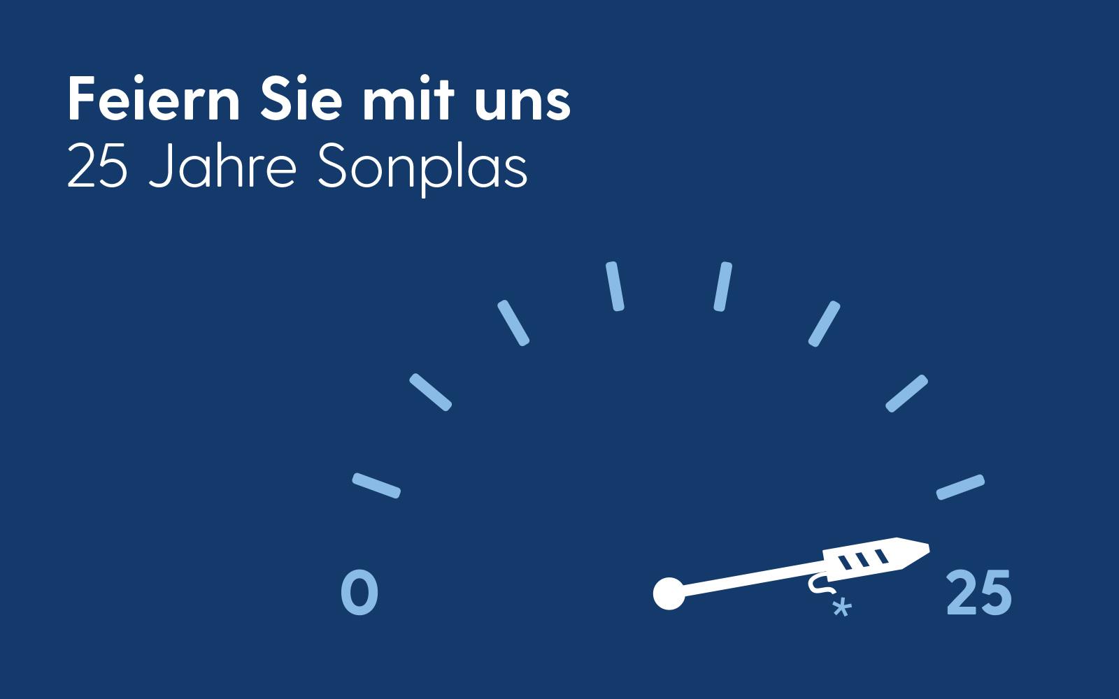 Sonplas – Jubiläums-Grafik