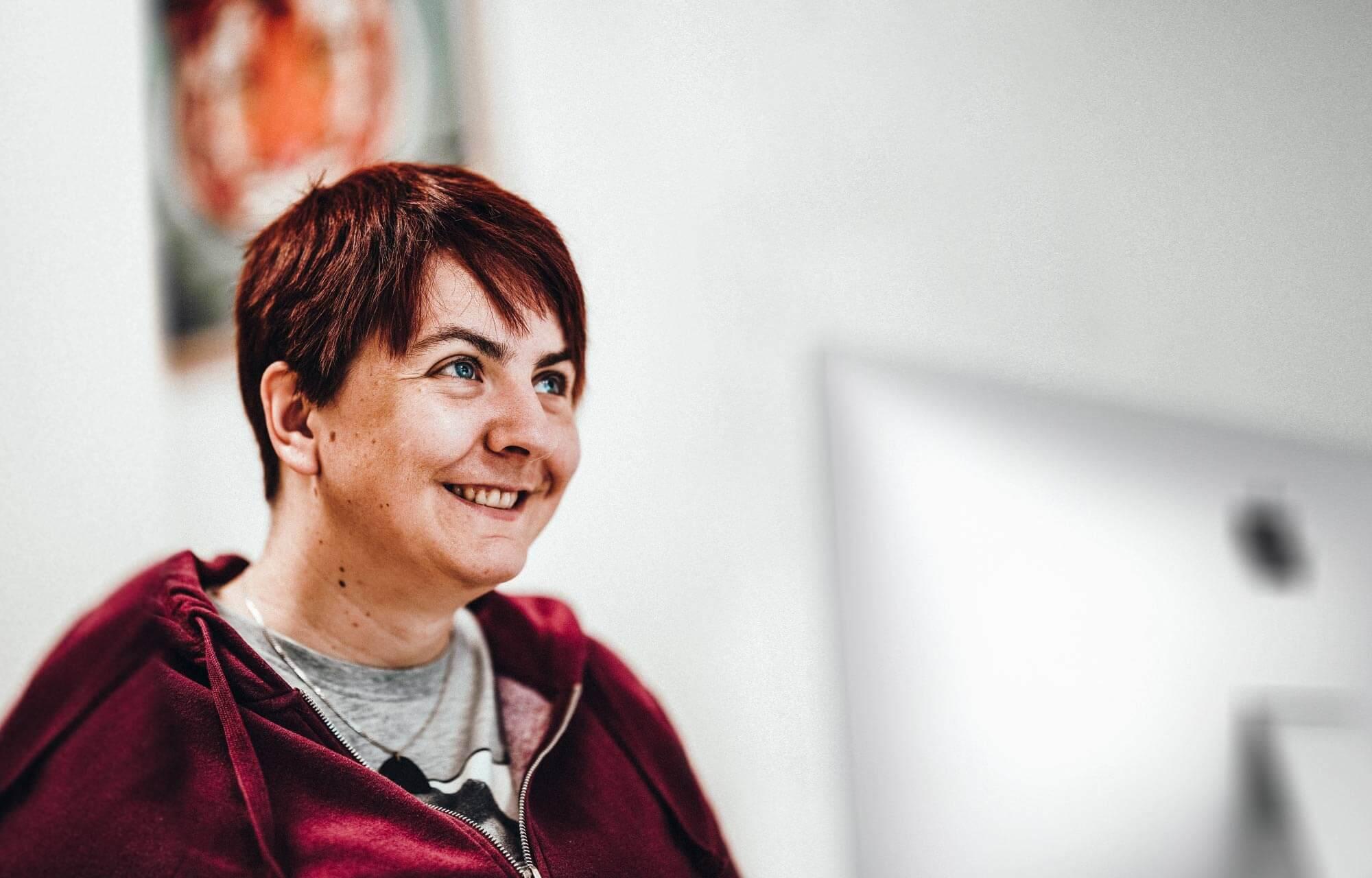 teamElgato Werbeagentur – Birgit Portrait