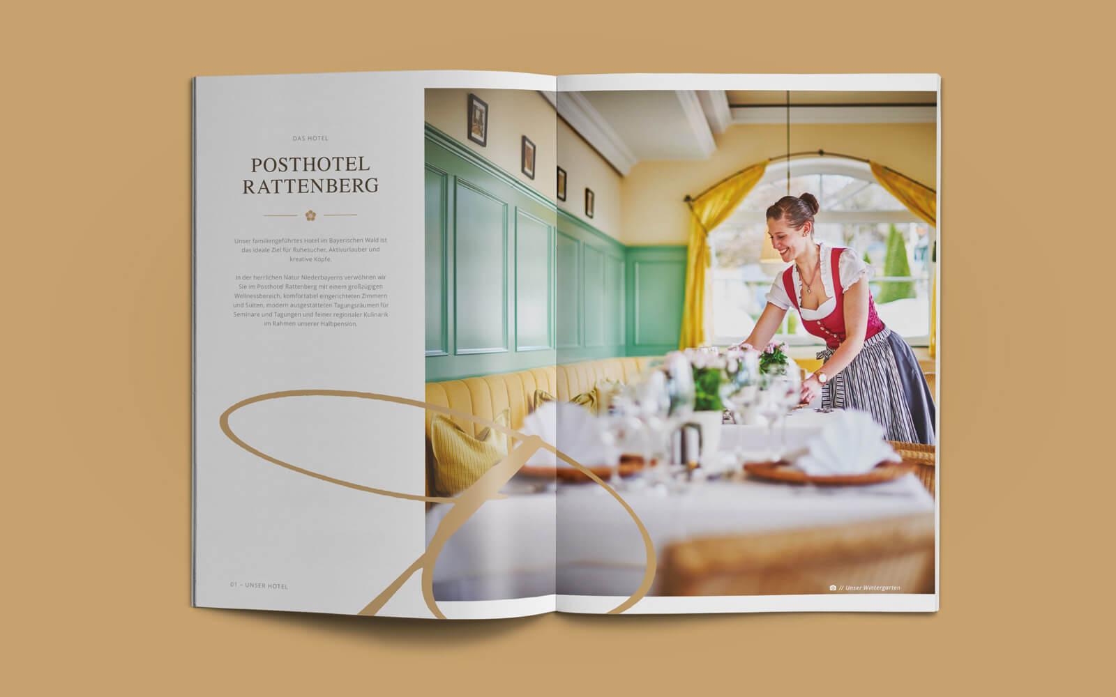 Posthotel Rattenberg – Imagebroschüre Unser Hotel
