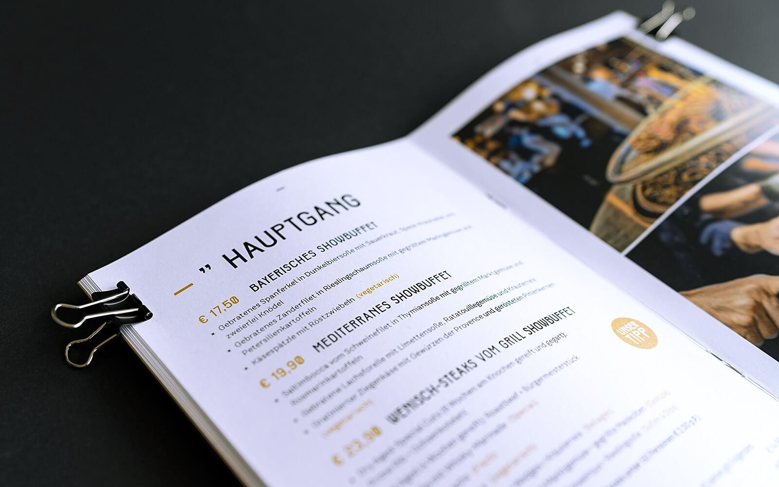 TONI's Events – Hochzeitsbroschüre