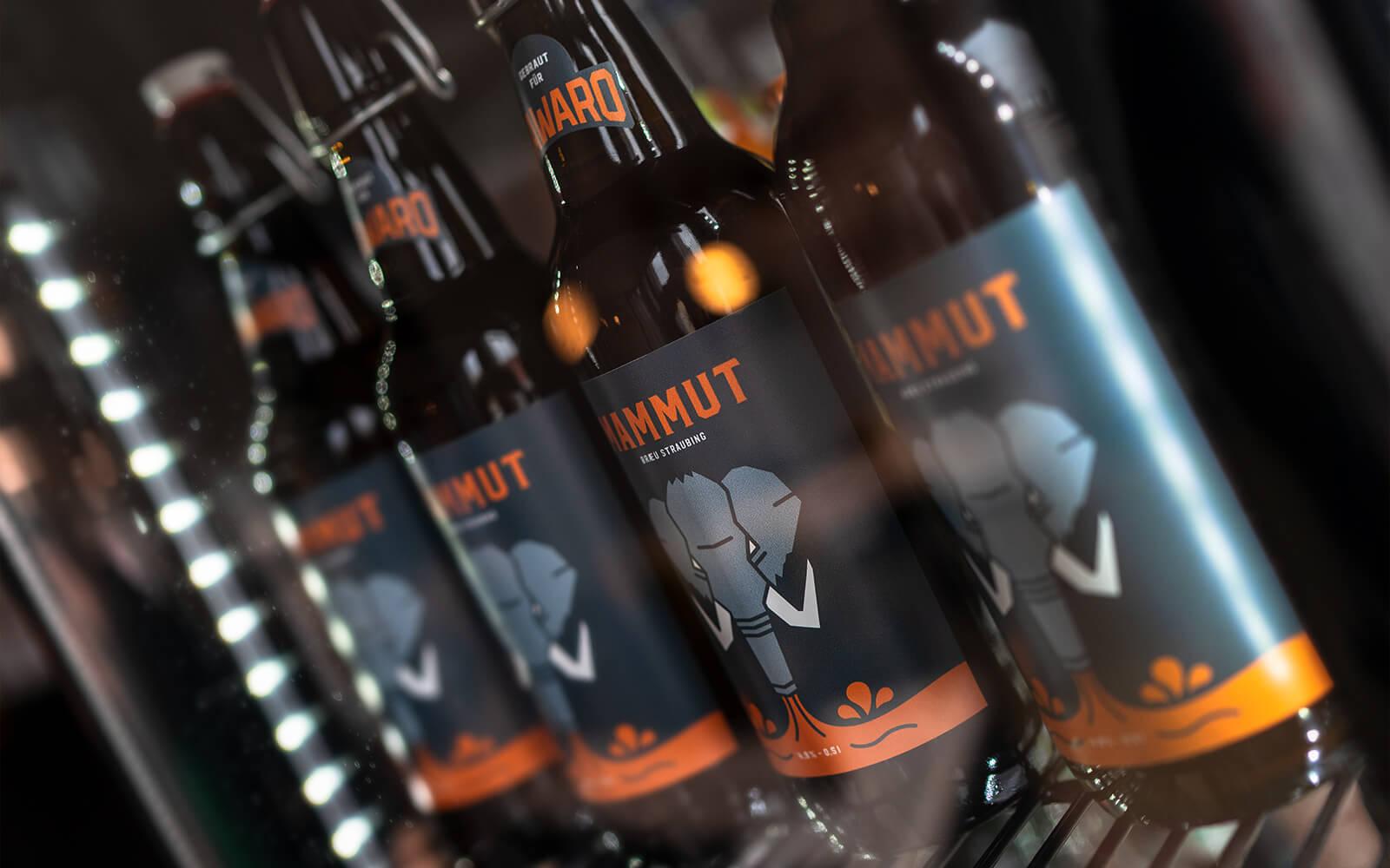 Mammut Bräu – Craft Beer Etiketten
