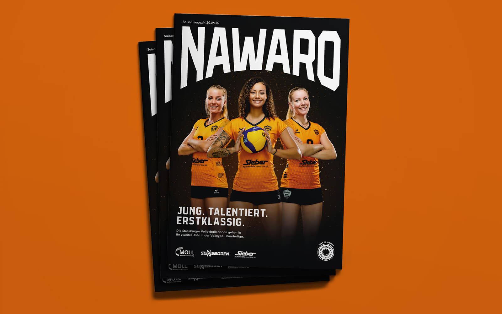 NawaRo Straubing – Saisonmagazin Titel