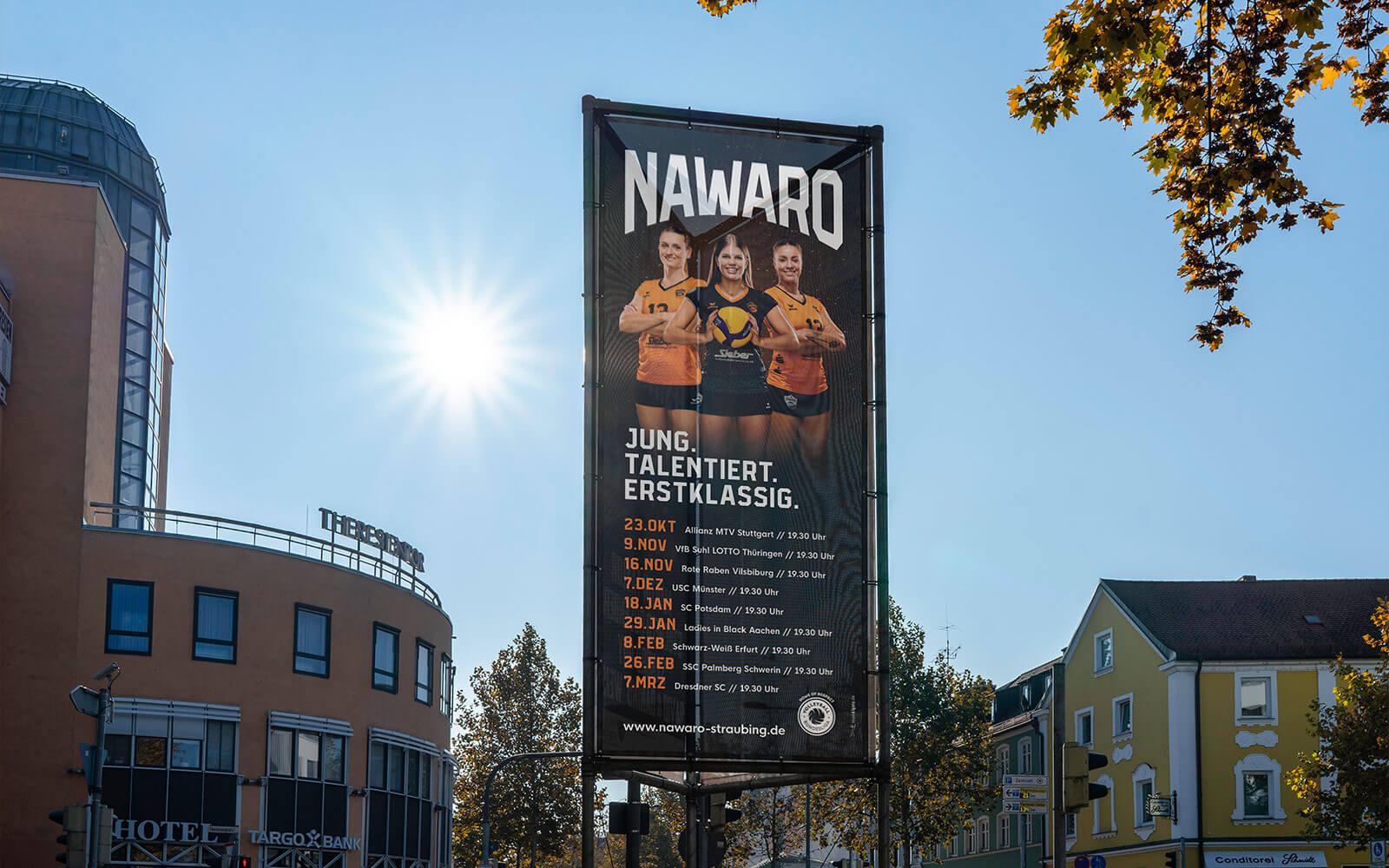 NawaRo Straubing – Tribanner