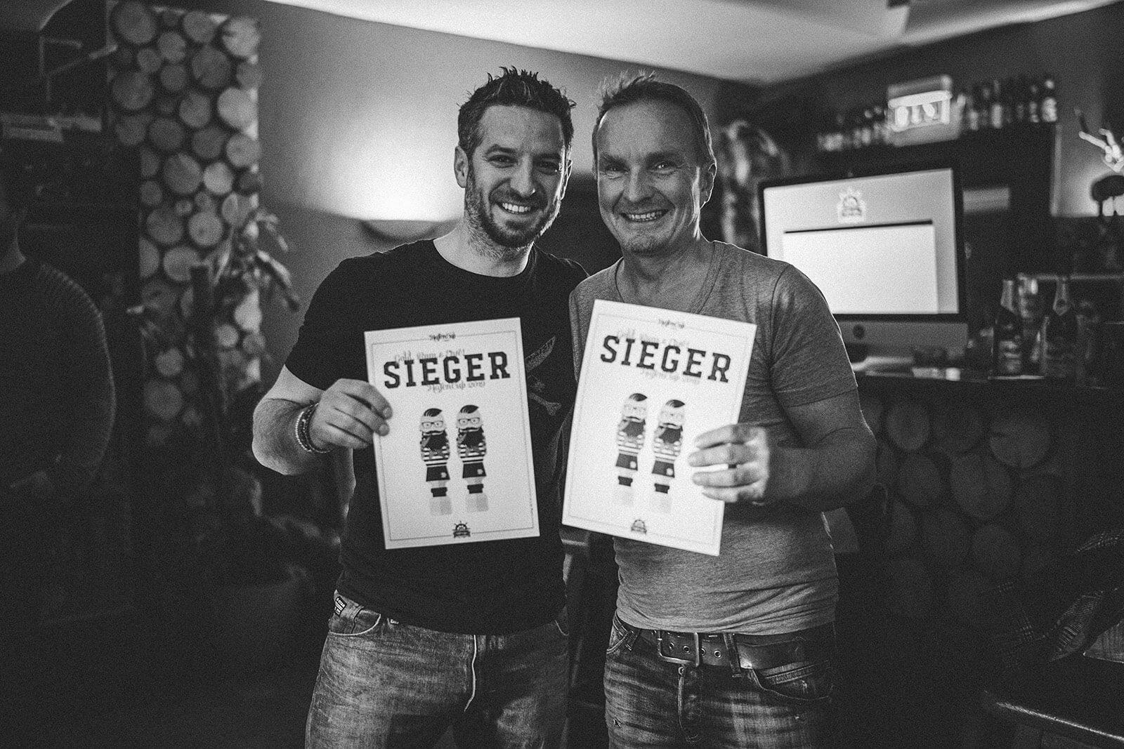 HafenCup 2019 – Die beiden Gewinner Tom Hopf und Harald Hartmann