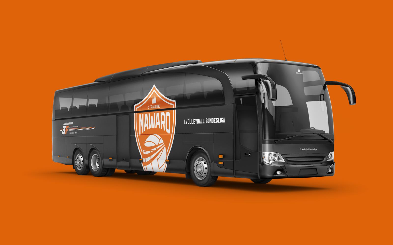 NawaRo Straubing – Teambus