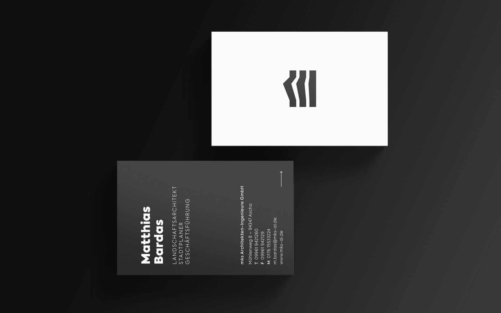 mks – Visitenkarten