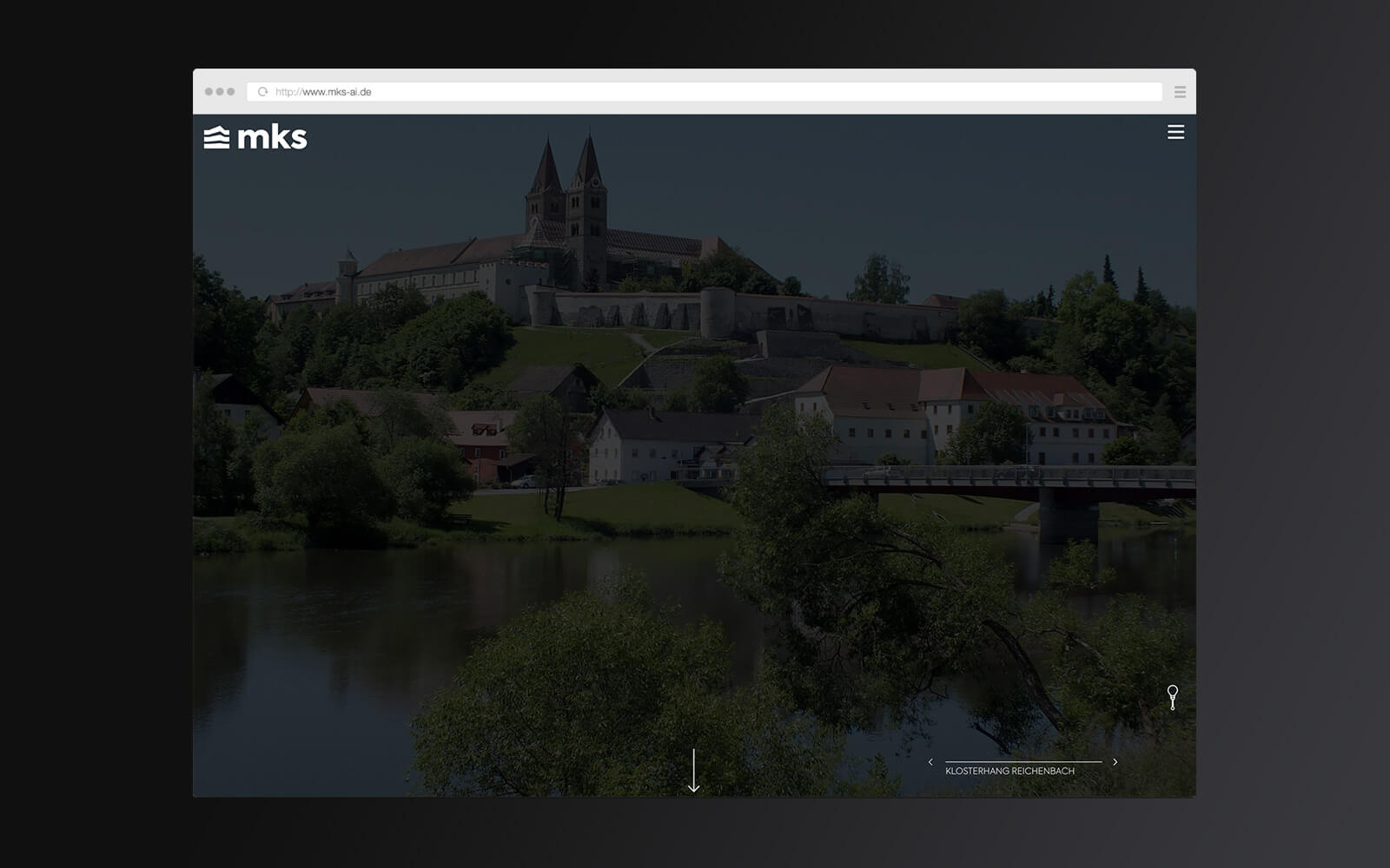 mks – Website Startseite Slider – Lights off