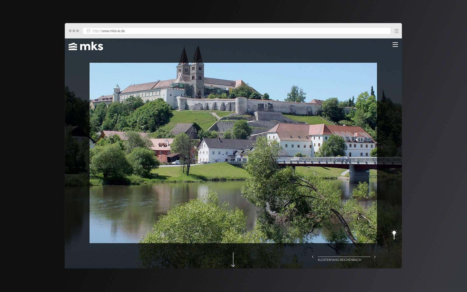 mks – Website Startseite Slider – Lights on