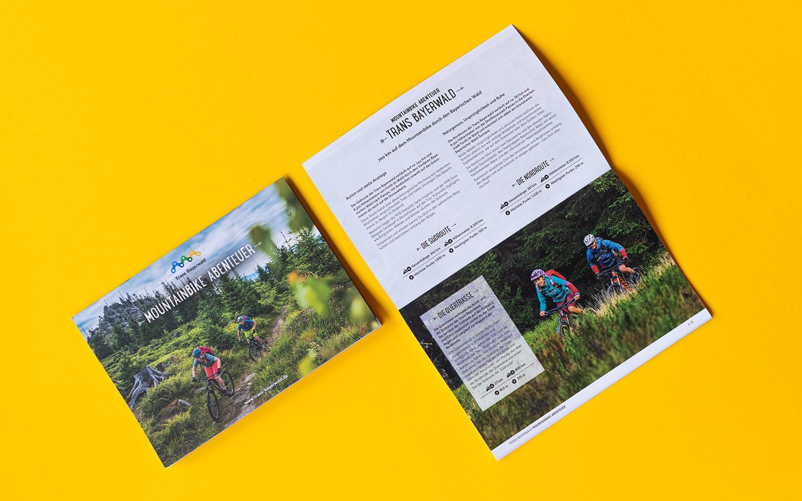 Trans Bayerwald – Etappen-Booklet