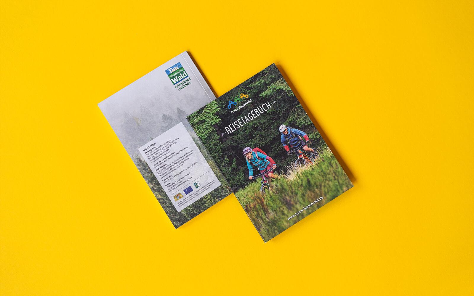 Trans Bayerwald – Reisetagebuch Titel