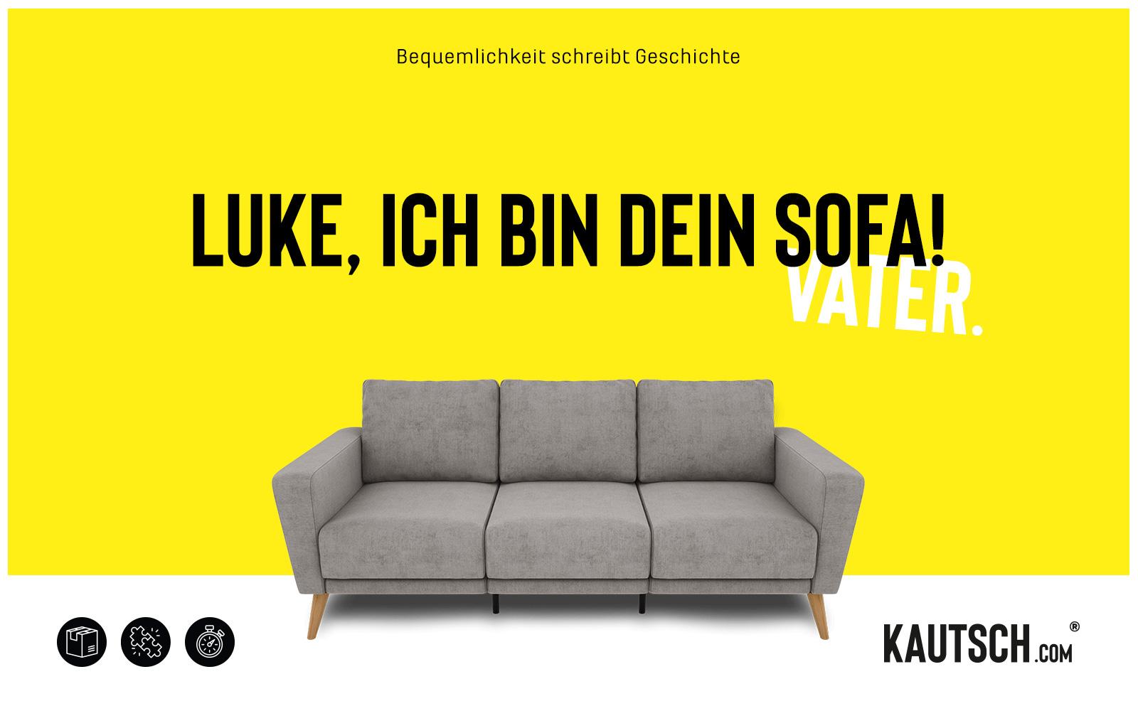 KAUTSCH.com – Kampagne LUKE