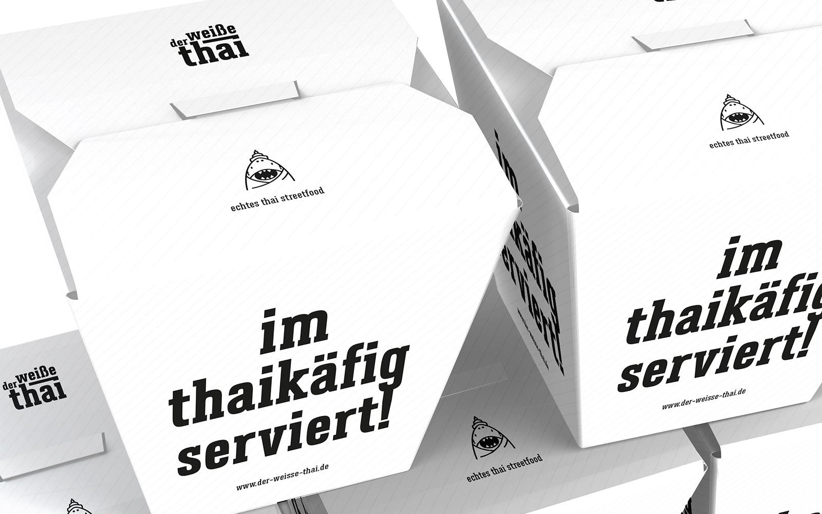 Der weiße Thai – Food Box