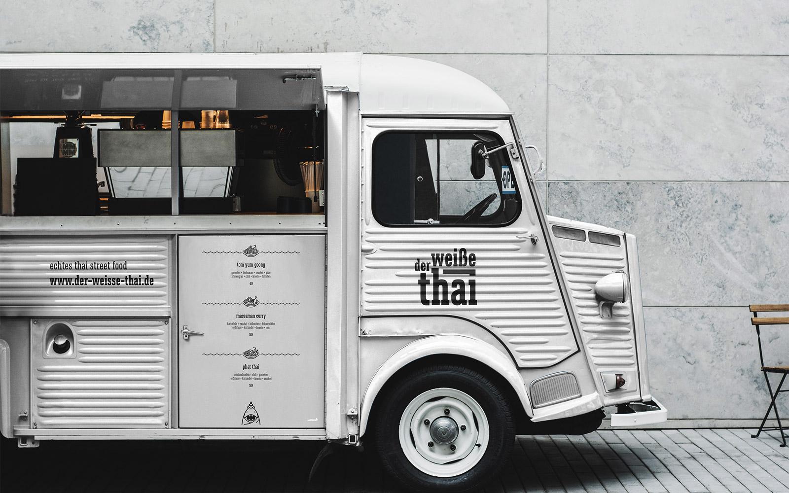 Der weiße Thai – Food Truck