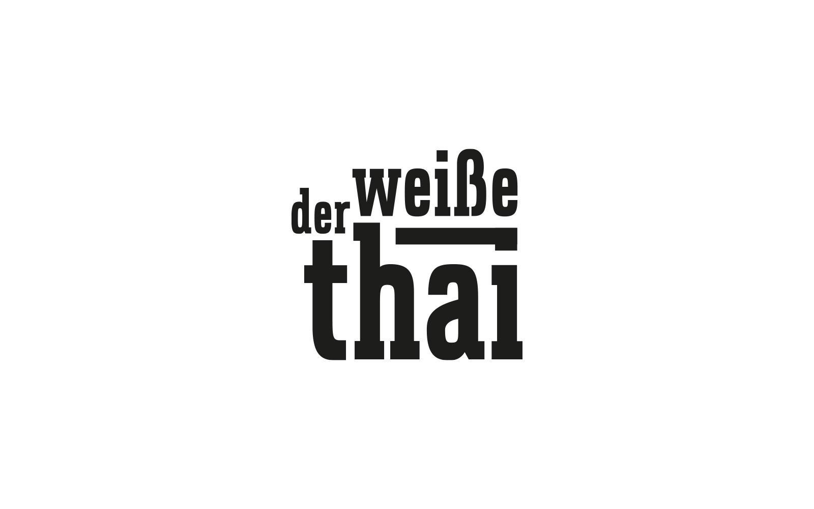 Der weiße Thai – Logo