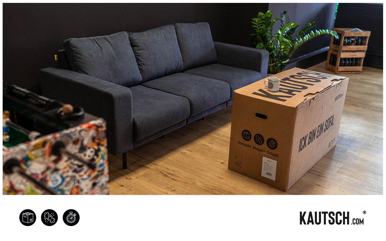 KAUTSCH.com – Karton als Beistelltisch