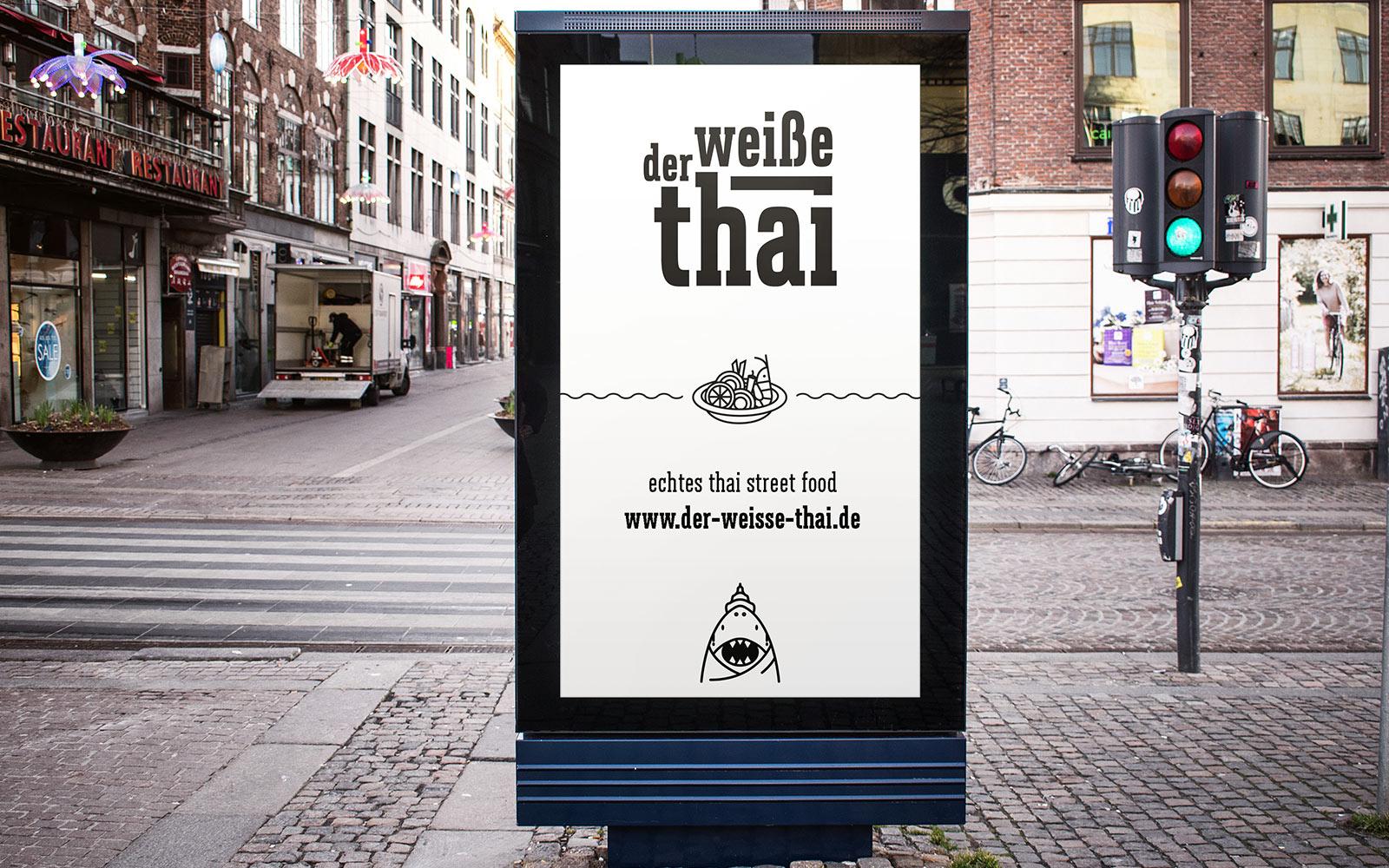Der weiße Thai – Poster