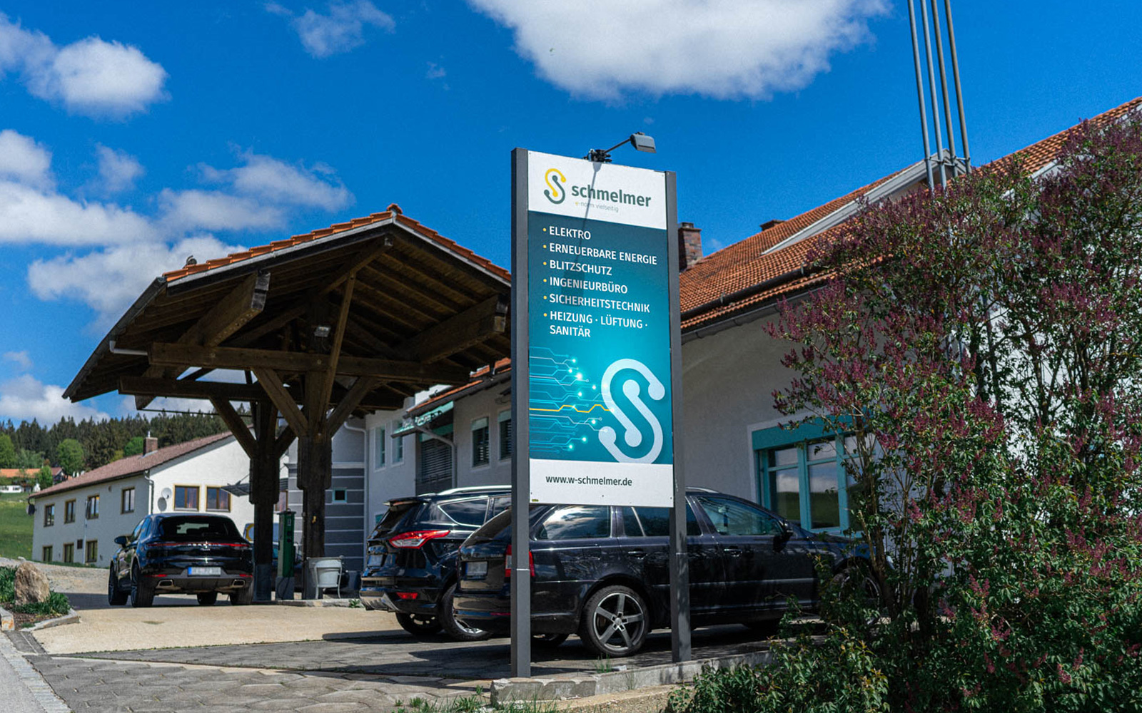 Werner Schmelmer GmbH & Co.KG – Werbetafel