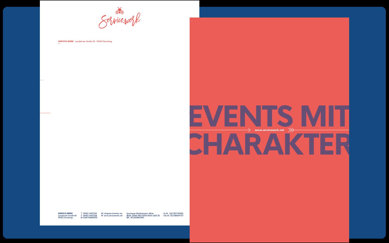 SERVICE.WERK – Briefvorlage
