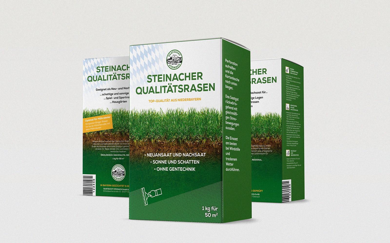 Saatzucht Steinach – Verpackungsdesign
